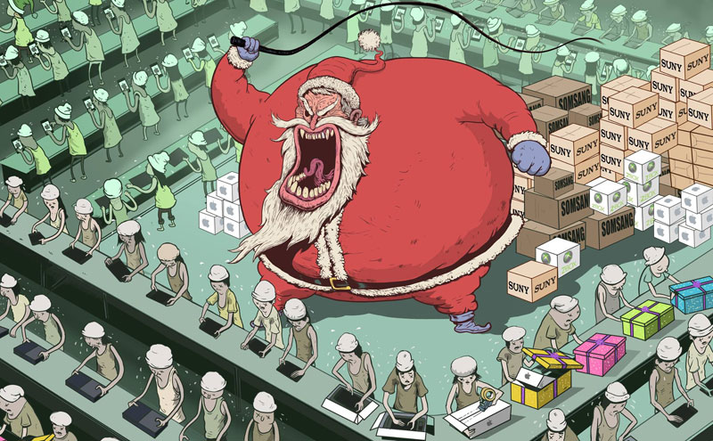 the sad state of todays world by steve cutts (6)