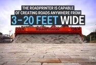 Watch This Machine Prints Brick Roads