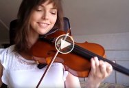 Adult Beginner Films Her Progress Learning the Violin Every Week for Two Years