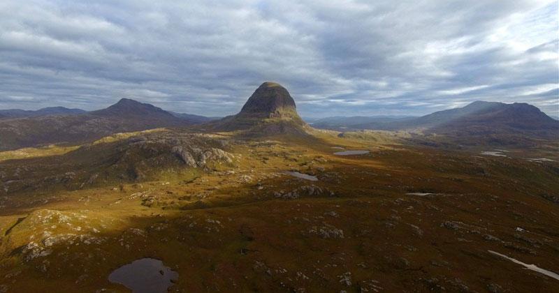 An Aerial Tour Through the Scotland Wilderness