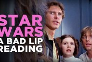 A Bad Lip Reading of Star Wars
