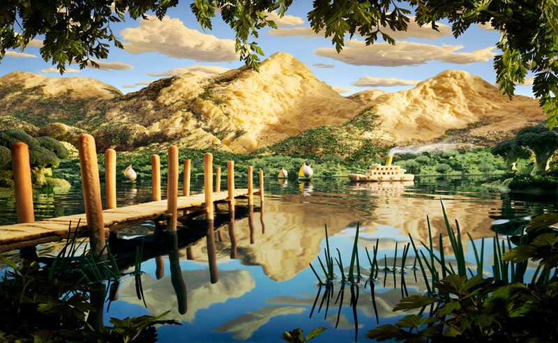 carl warner makes landscapes out of anything (16)
