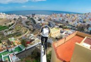 Danny MacAskill Goes Rooftopping in Spain—on his Bike