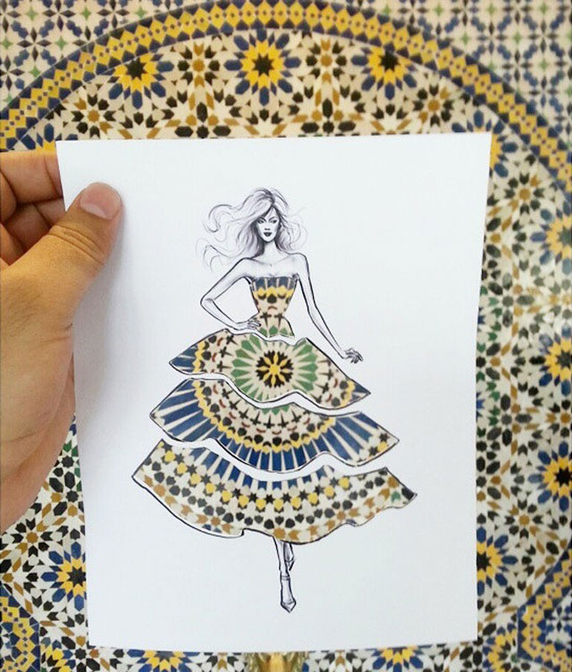 Fashion Cut Outs Use The World Around Them for Their Palette by shamekh bluwi (2)