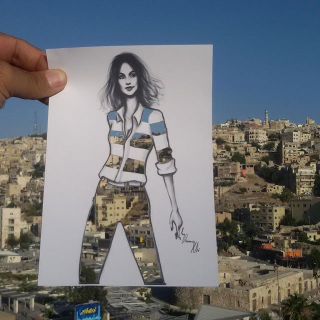 Fashion Cut Outs Use The World Around Them for Their Palette by shamekh bluwi (3)
