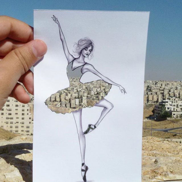 Fashion Cut Outs Use The World Around Them for Their Palette by shamekh bluwi (4)