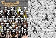 Find the Panda: Black Metal / Star Wars Editions