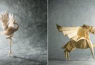 Gonzalo Calvo Folds Beautiful Origami Artworks (9 photos)