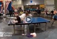 Header Table Tennis is a Thing and the Rallies are Awesome