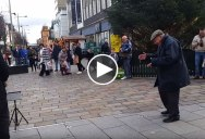 Let This Elderly Man Dancing to a Saxophone Brighten Your Day