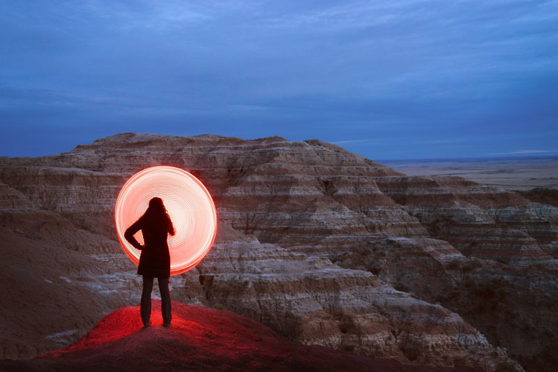 long exposure light painting with led hula hoop by grant mallory (2)