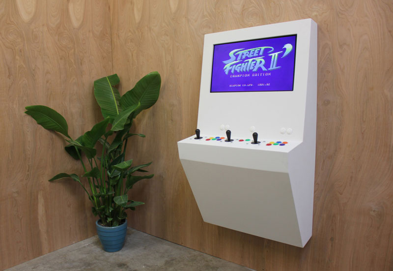 Polycade Puts 90 Arcade Classics Into a Single Contemporary Unit