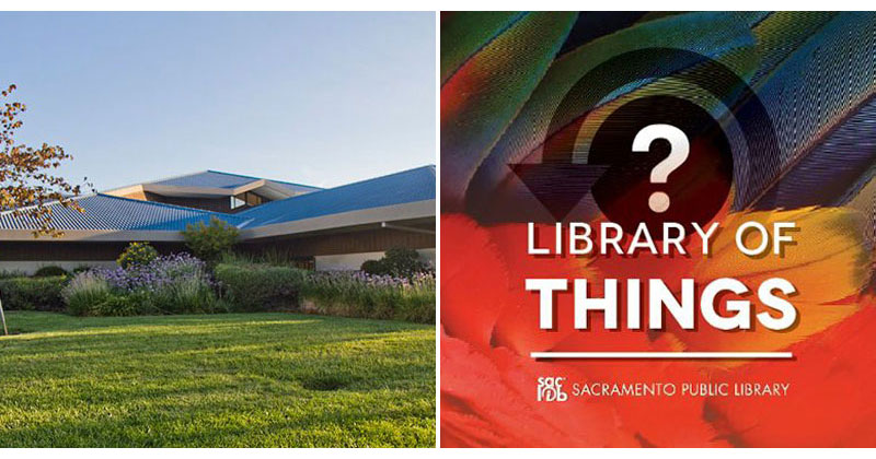 In Sacramento There's a Library of Things That Lets You Borrow Tools, Instruments and More