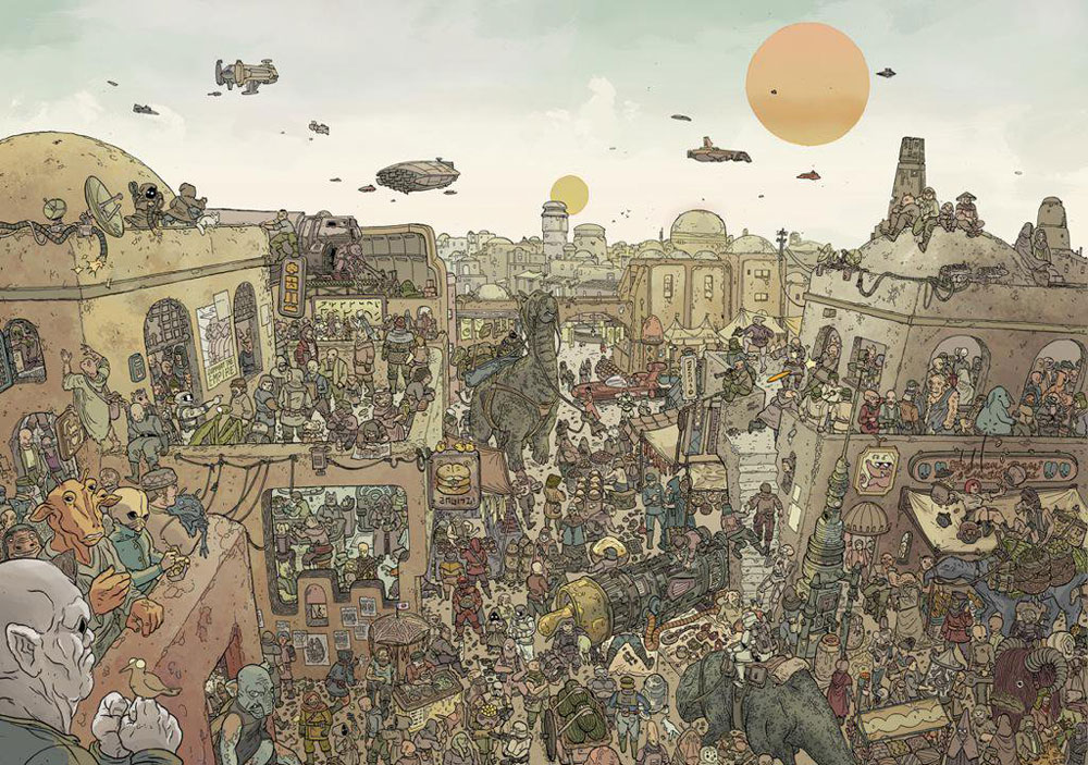 Star Wars Where's the Wookiee Search and Find Book (6)