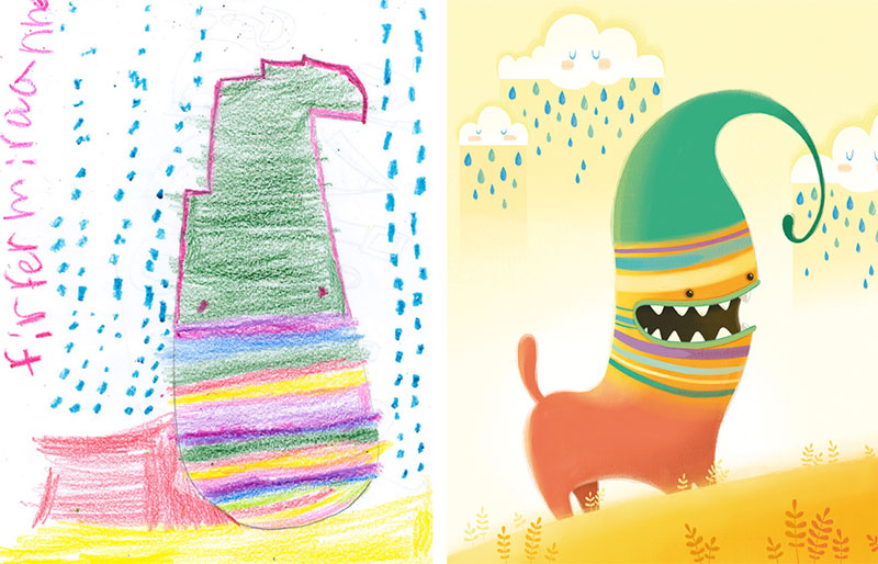 the monster project brings kids drawings to life (11)