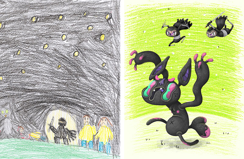 the monster project brings kids drawings to life (22)