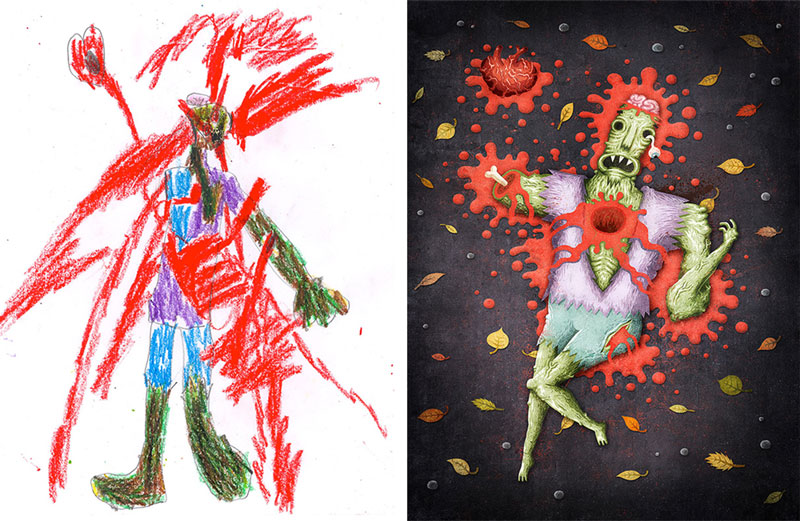 the monster project brings kids drawings to life (23)