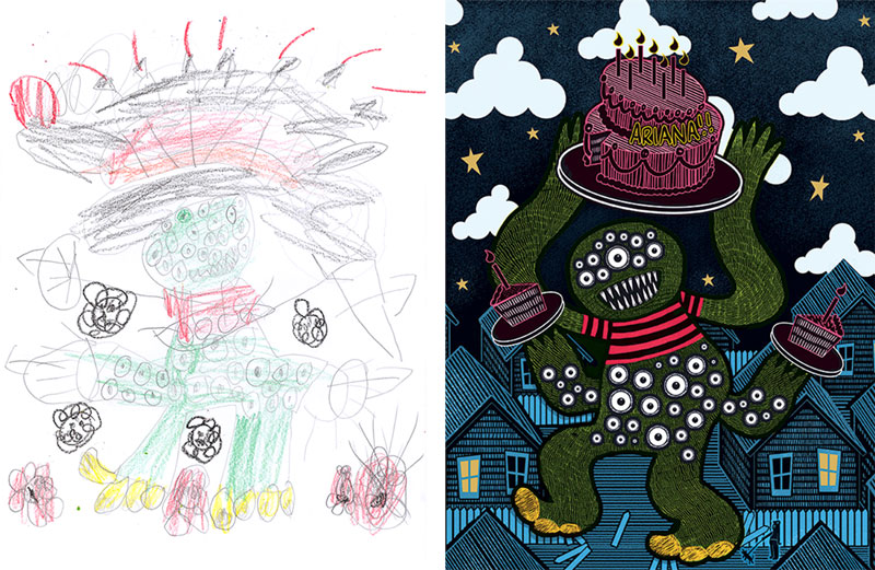 the monster project brings kids drawings to life (24)