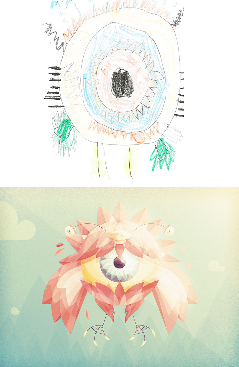 the monster project brings kids drawings to life (28)
