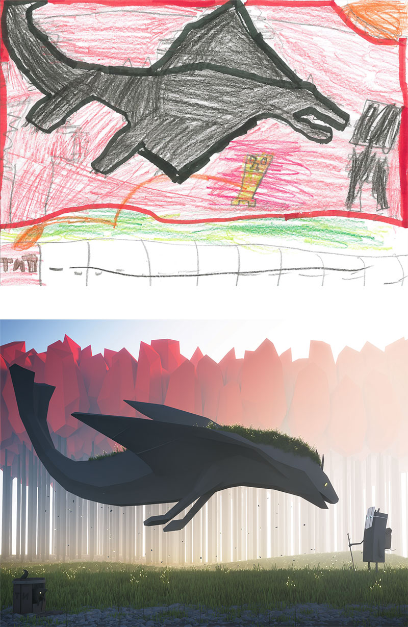 the monster project brings kids drawings to life (30)
