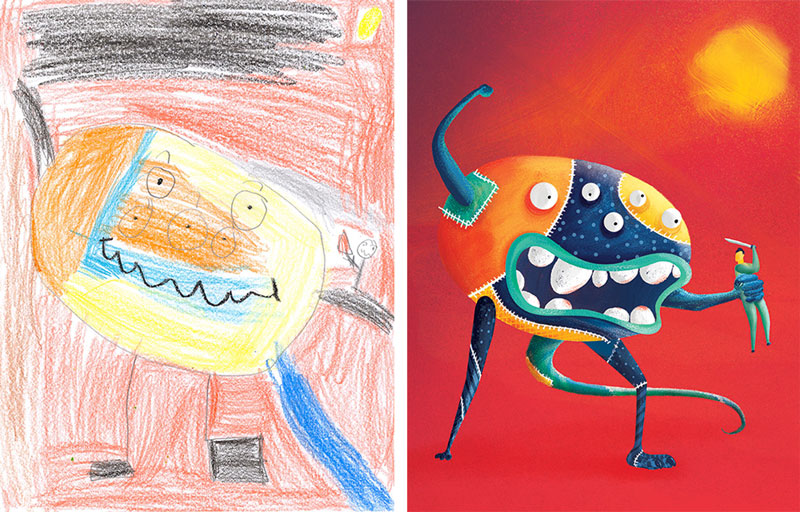 the monster project brings kids drawings to life (33)