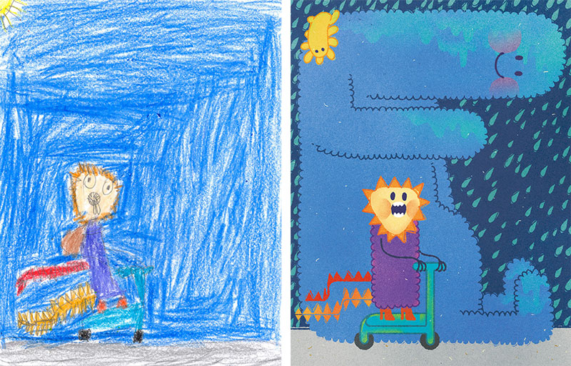 the monster project brings kids drawings to life (6)