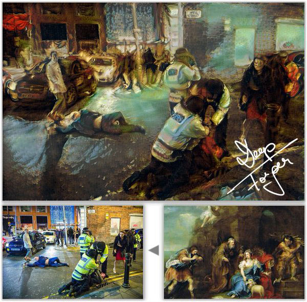 Drunken NYE Photo from Manchester is a Modern Day Renaissance Masterpiece (9)