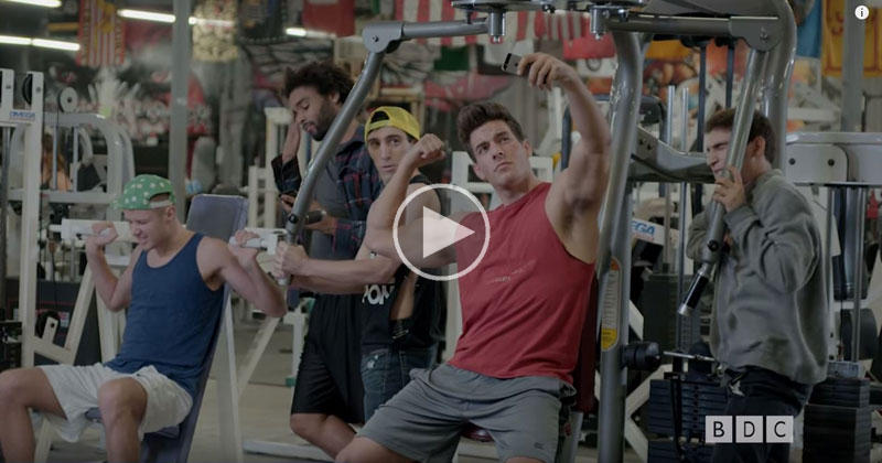 A Mockumentary of Gym Life in the Style of a Nature Show