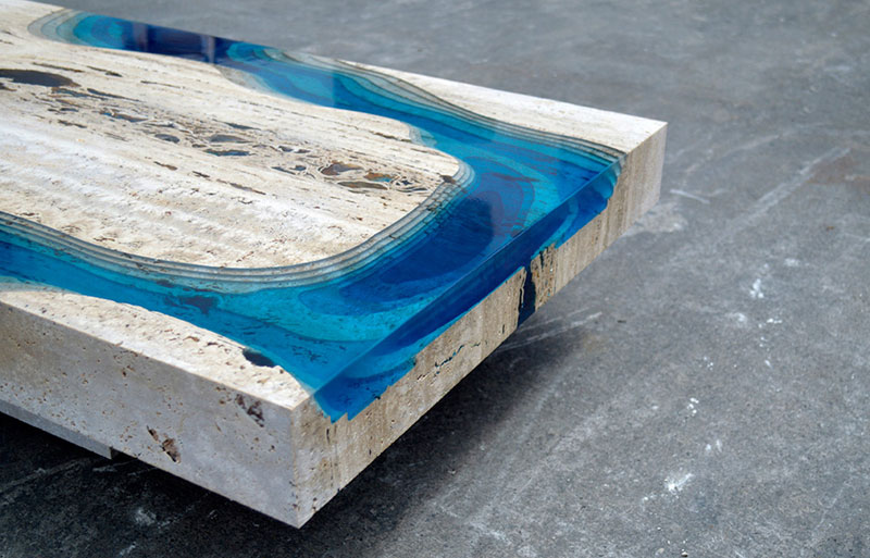 lagoon table made from marble and resin by LA Table (5)