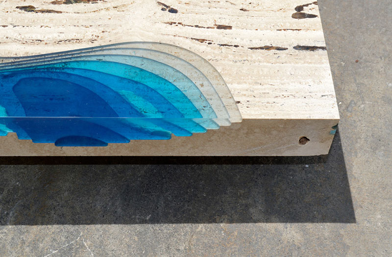 lagoon table made from marble and resin by LA Table (6)