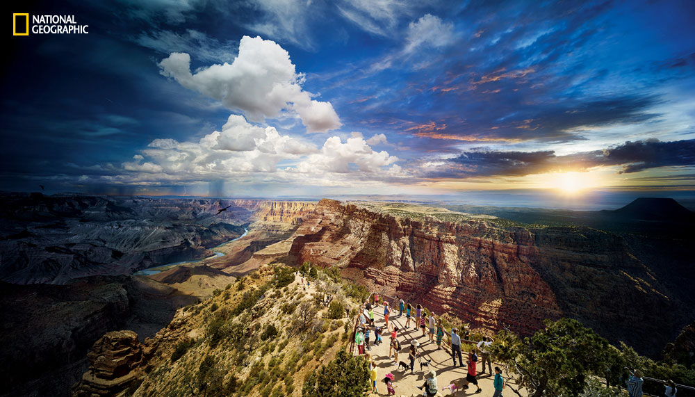 Amazing Day to Night Photos of US National Parks by Stephen Wilkes