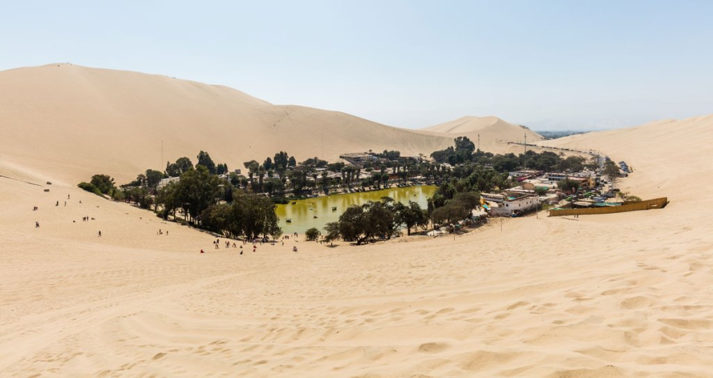 Picture of the Day: A Desert Oasis in Peru