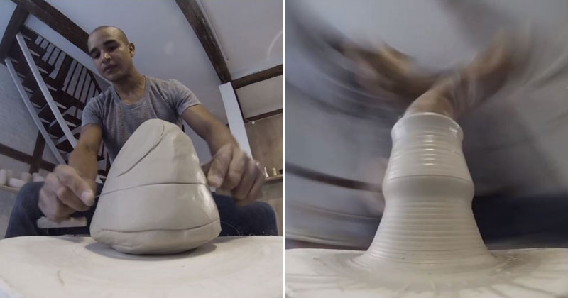 Pottery from the Wheel's Perspective