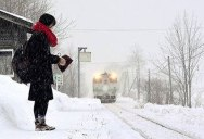 Remote Train Station in Japan Remains Open So Student Can Go to School
