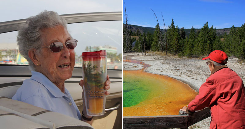 90-Year-Old Woman Chooses Epic Road Trip With Family Over Cancer Treatment