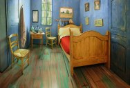 Museum Recreates Van Gogh's Bedroom Painting and Puts it on Airbnb