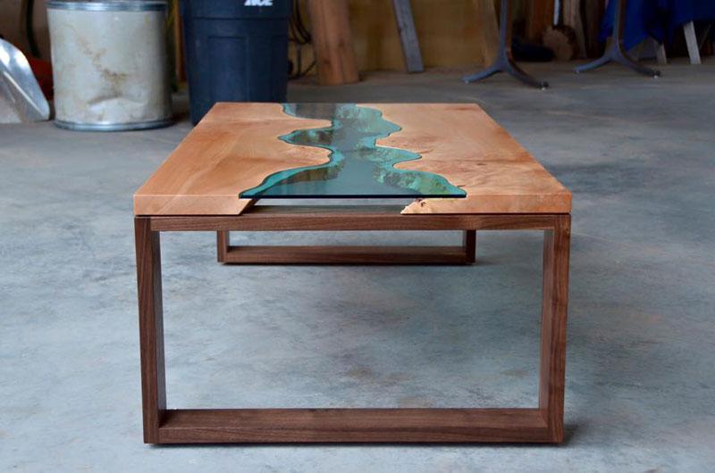 artist gregory klassen wood glass rivers lakes furniture (10)