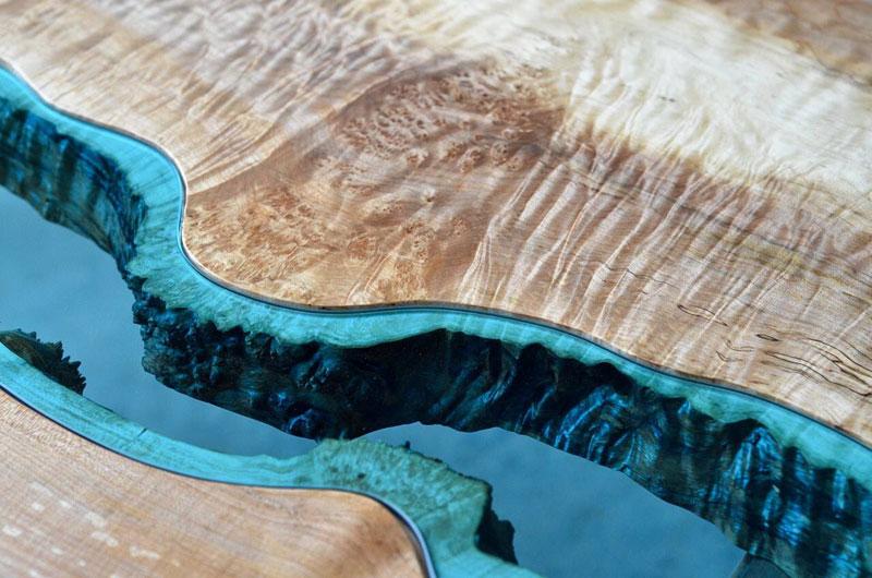 artist gregory klassen wood glass rivers lakes furniture (13)