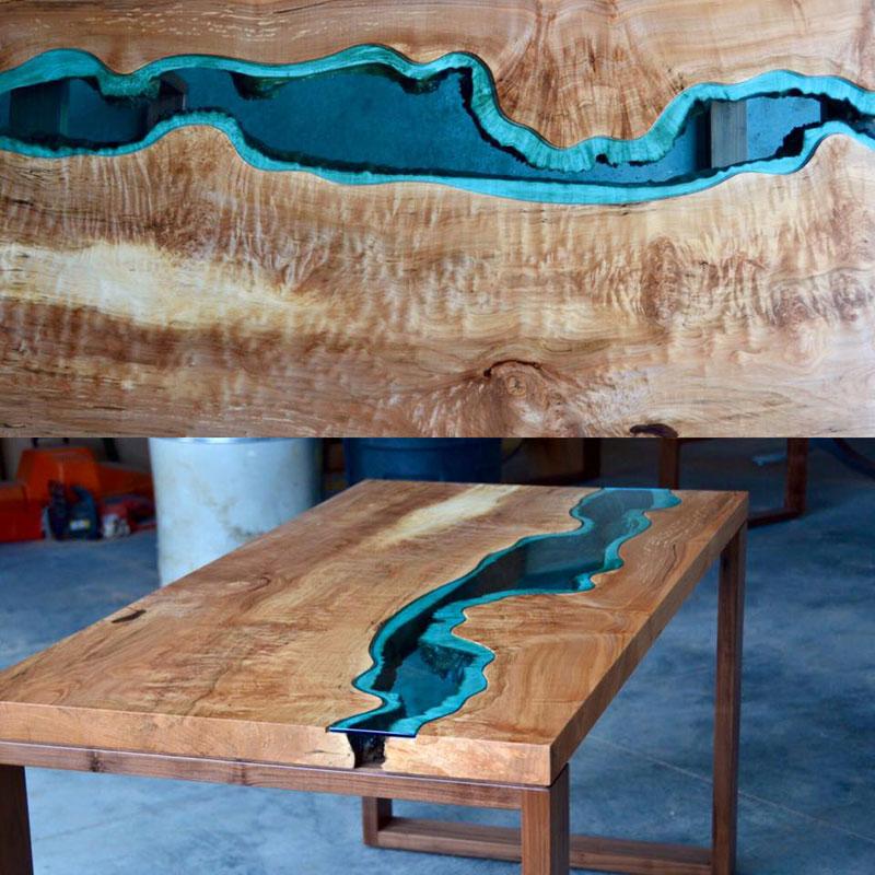 artist gregory klassen wood glass rivers lakes furniture (14)