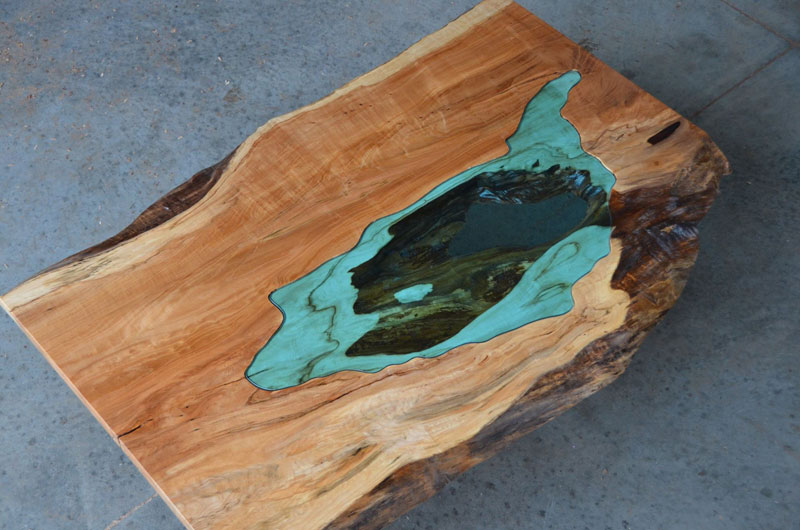 artist gregory klassen wood glass rivers lakes furniture (4)
