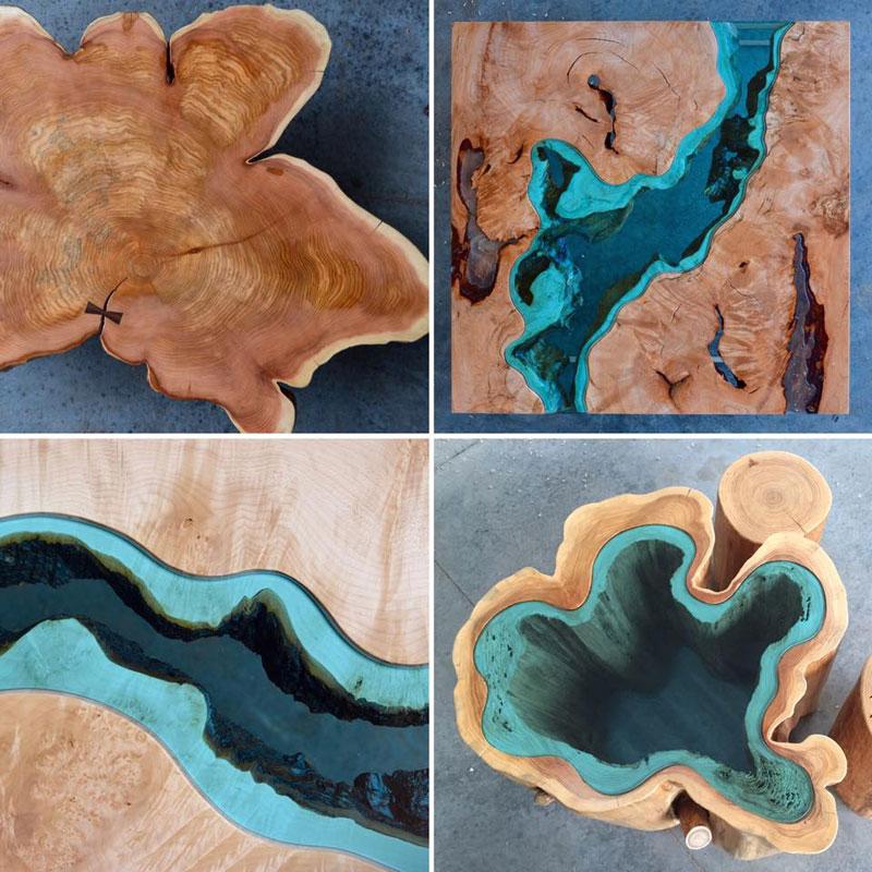 artist gregory klassen wood glass rivers lakes furniture (5)
