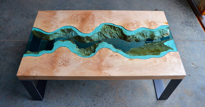 Gregory Klassen Transforms Knots and Live Edges Into Rivers and Lakes