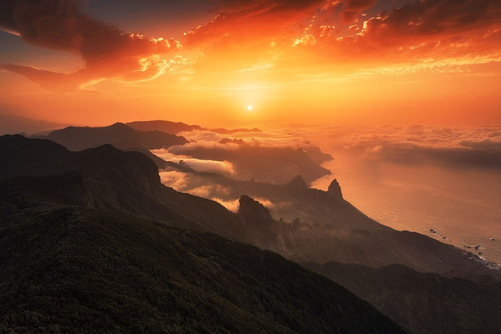 Picture of the Day: Canary Islands Sunset