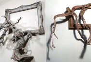 Darryl Cox Melds Fallen Branches and Old Frames Into Something New