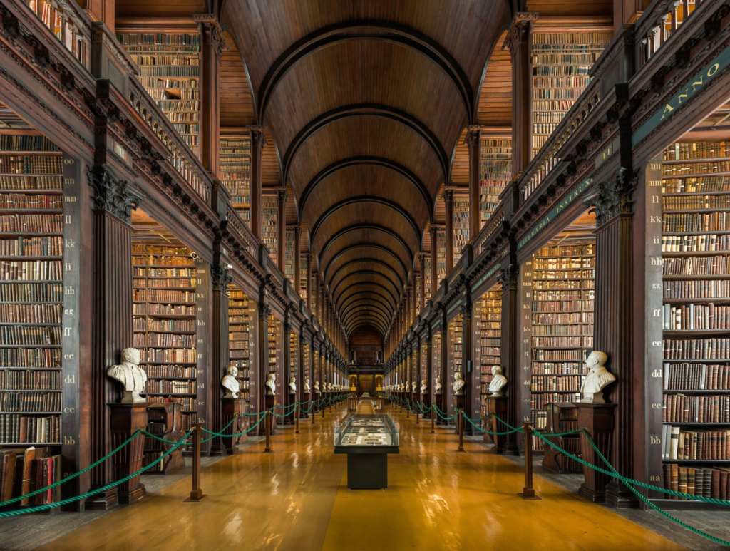Picture of the Day: The Long Room, Trinity College Library, Dublin