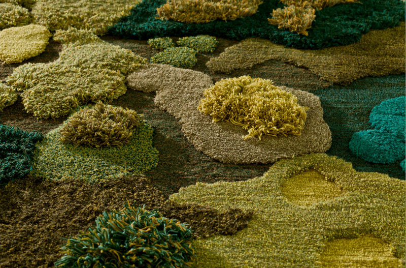 One-of-a-Kind Rugs That Look Like Lush Green Landscapes by alexandra kehayoglou (5)