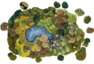 Artist Creates One-of-a-Kind Rugs That Look Like Lush Green Landscapes