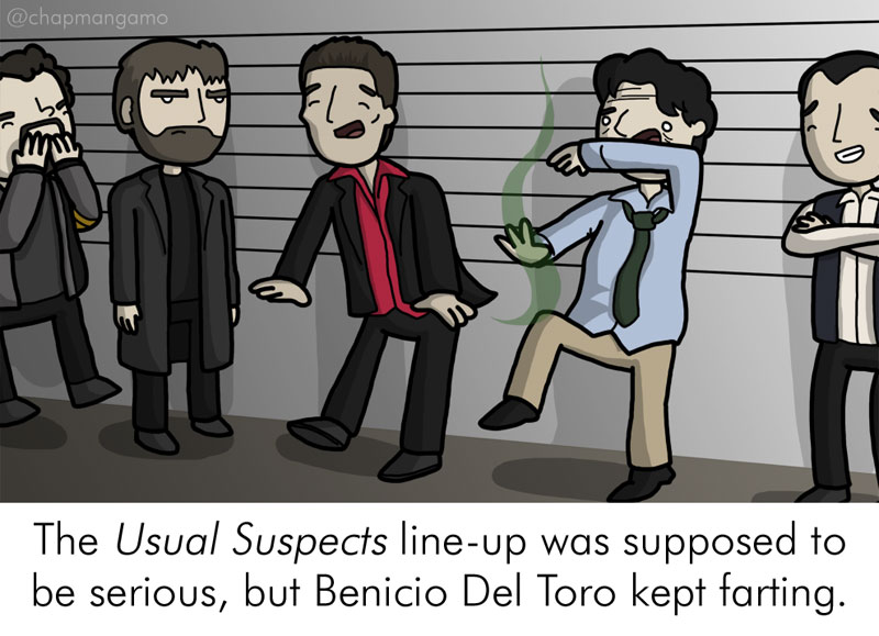 Random Movie Trivia Facts Illustrated by James Chapman (9)