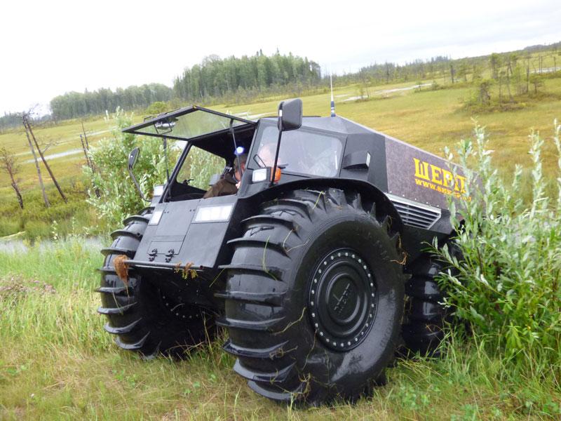sherp atv russian amphibious truck with monster wheels (2)