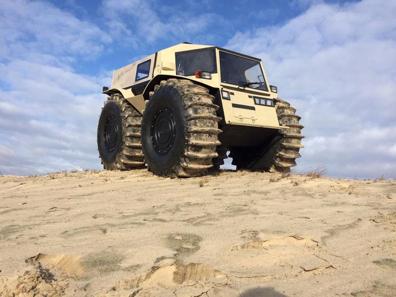 sherp atv russian amphibious truck with monster wheels (3)